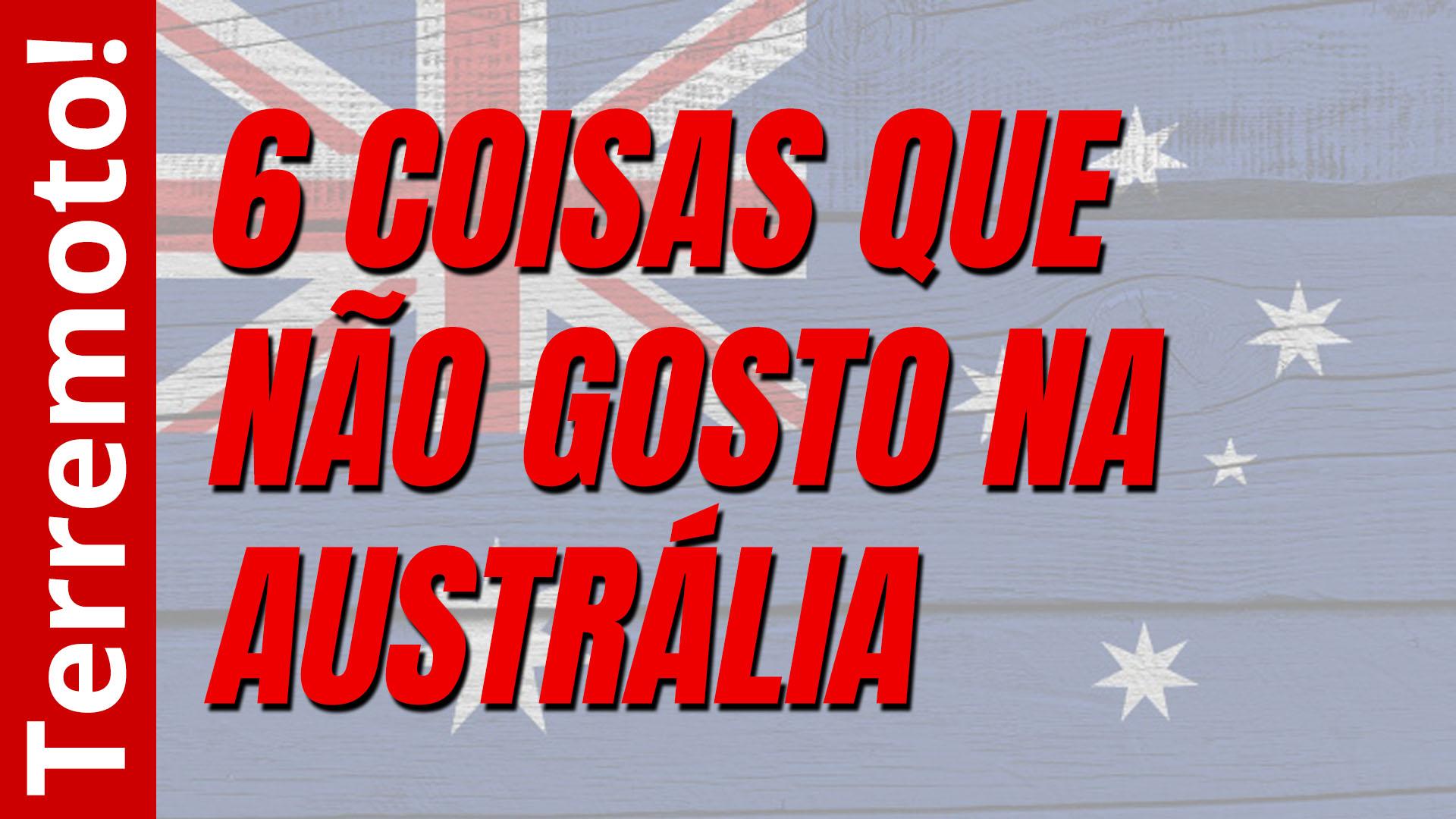 Aspectos ruins da Austrália